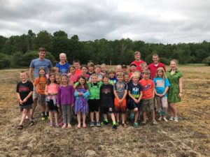 St James Totus Tuus kids seeding group June 29 2017 (1)
